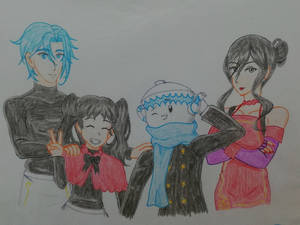 Miss Attendant's Family