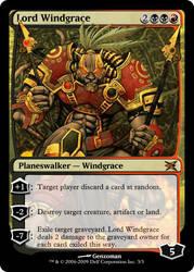 Planeswalker Lord Windgrace by flamedelf
