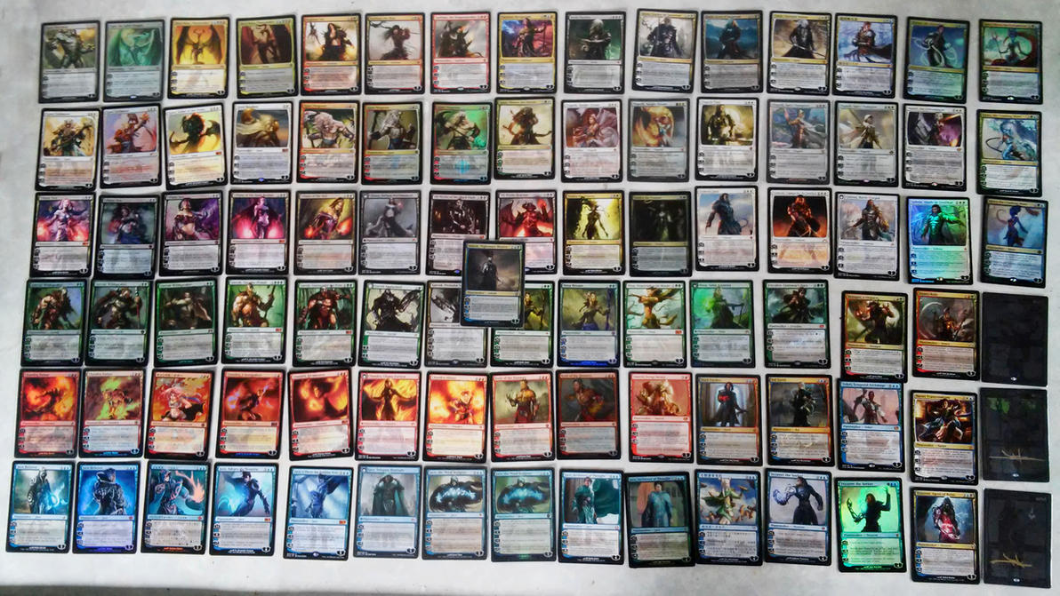 Planeswalker collection 2015 by flamedelf