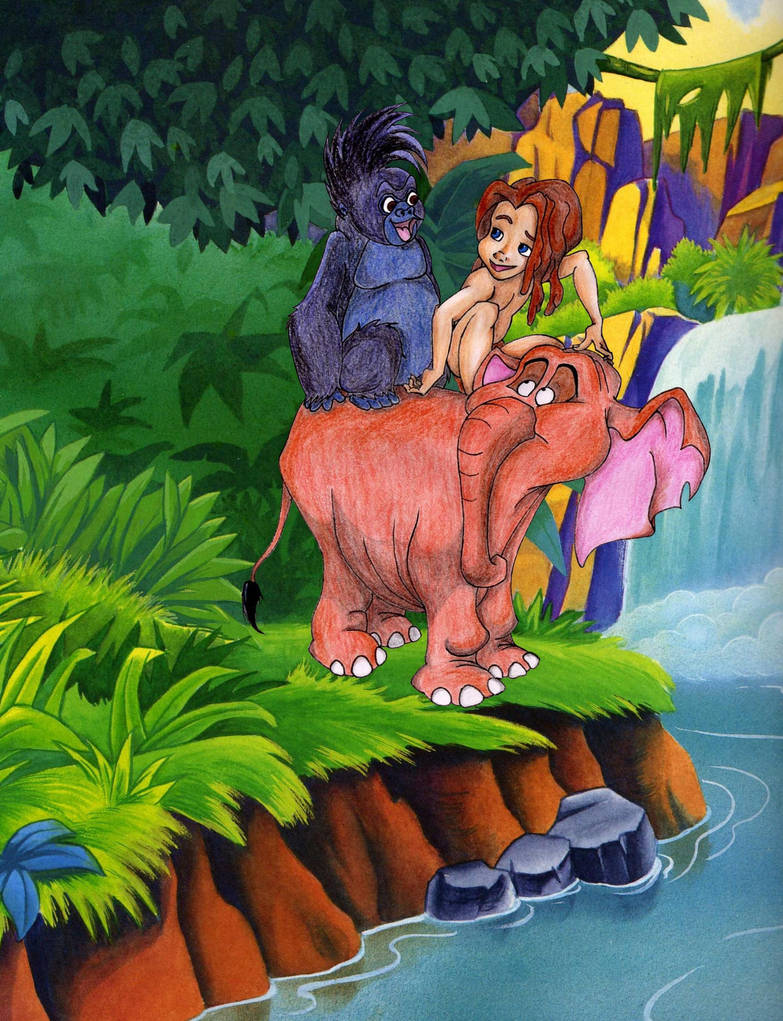 Tok Tantor Tarzan By Jelawrence On Deviantart