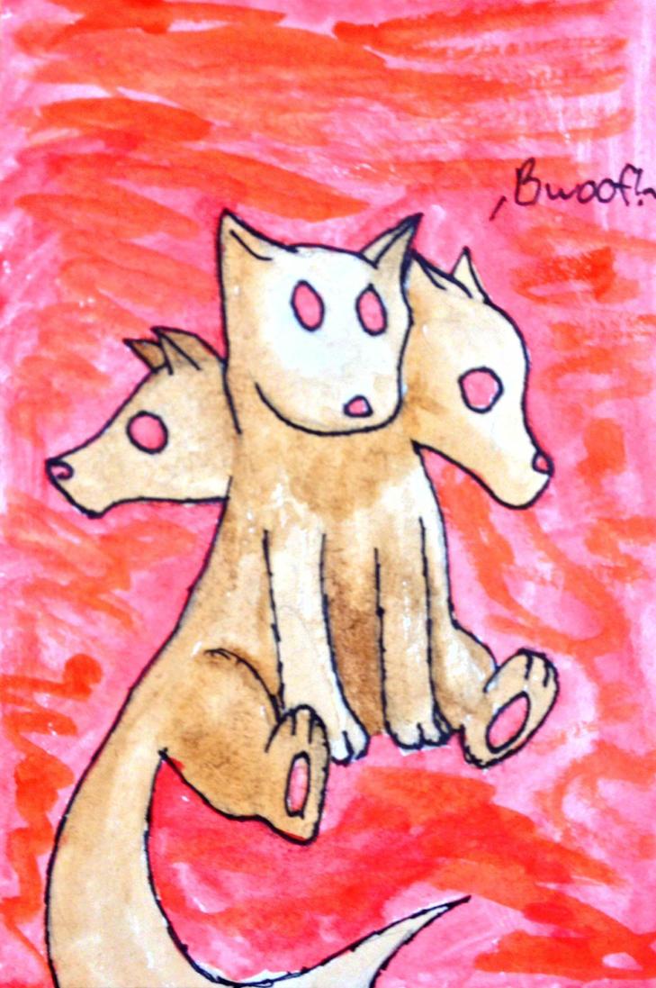 Chibi Cerberus by wiggybee101
