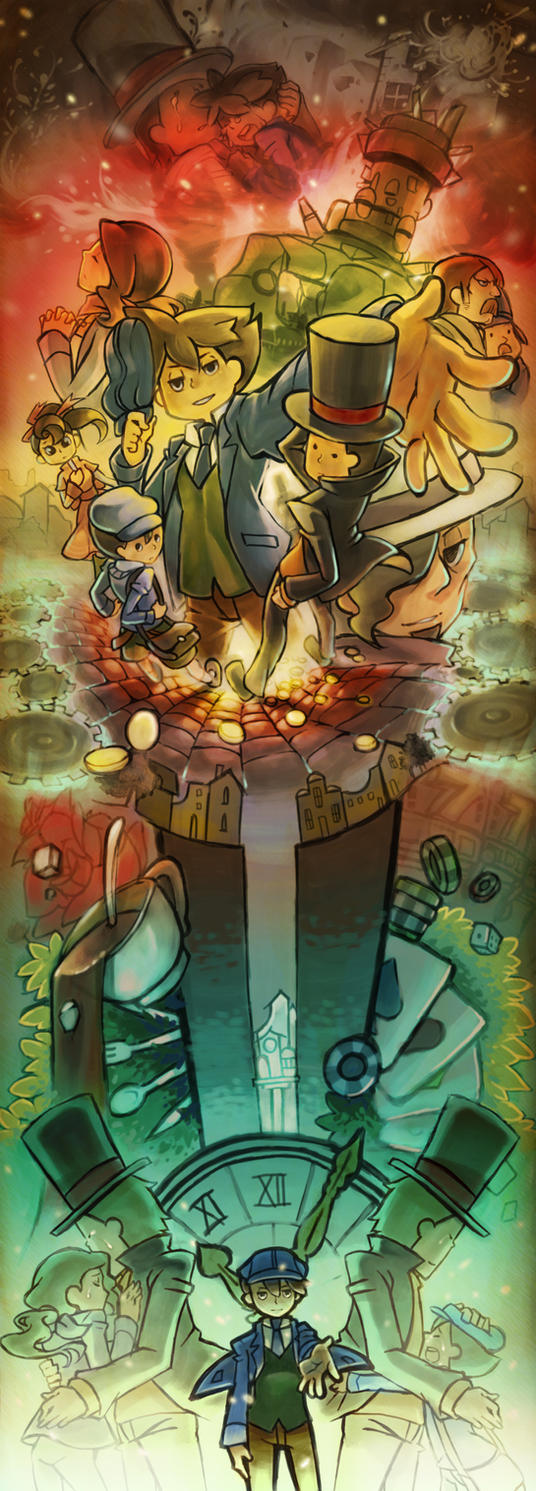 Professor Layton3 by khrssc