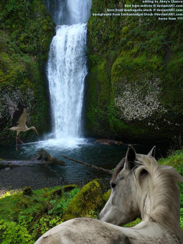 Unicorns And Waterfalls Unicorns like waterfalls byUnicorns And Waterfalls