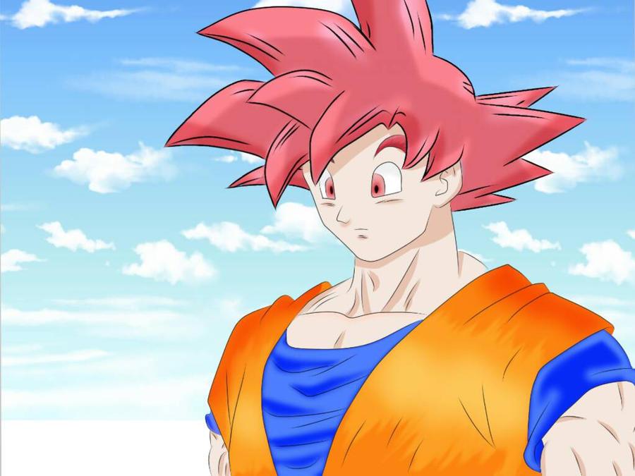 Goku God by JohanAlexander19