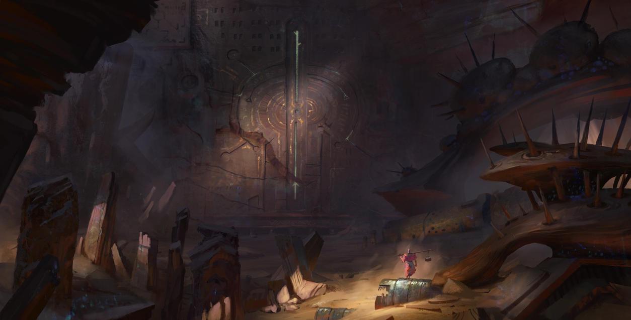 Deset Gate 02 by artursadlos