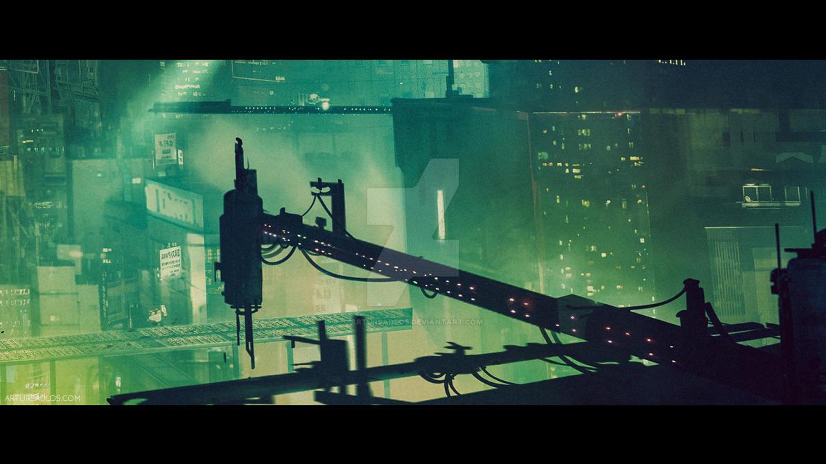 Cyberpunk City (cinematic frame #4) by artursadlos on DeviantArt
