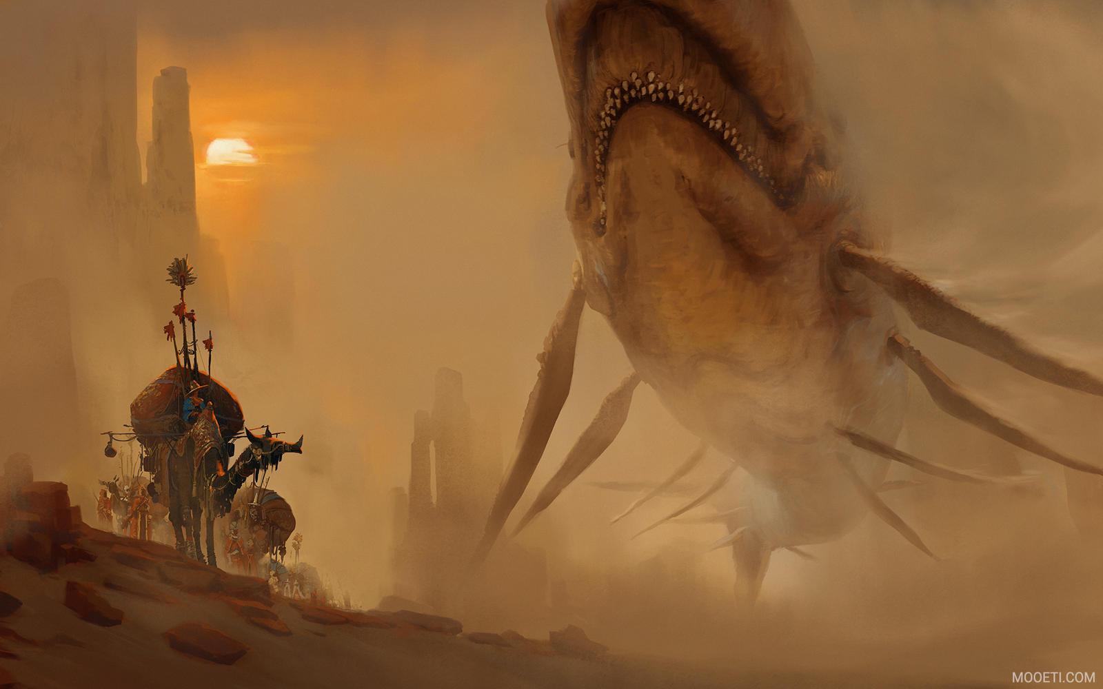 Encounter In The Deep Desert