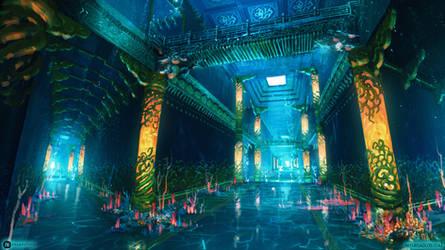 Dragon Palace - Corridor
