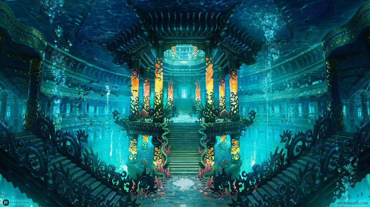 Dragon Palace - Tower by artursadlos