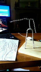 My first figure armature