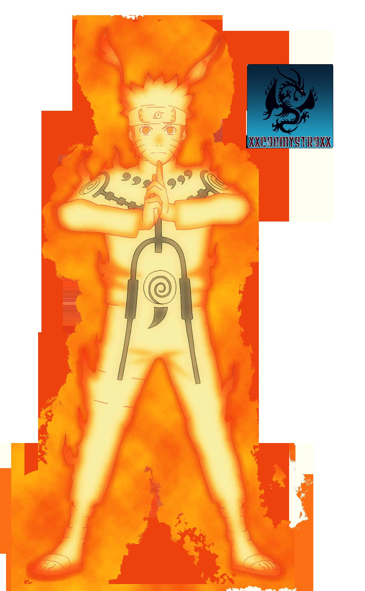 Kyuubi Chakra Controlled Mode KCM Naruto Render by CartoonPersonNaruto Kyuubi Chakra Mode