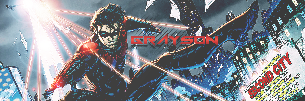 Nightwing New 52 Banner By CartoonPerson