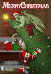 Bu and Nar's Christmas '08 by neekko