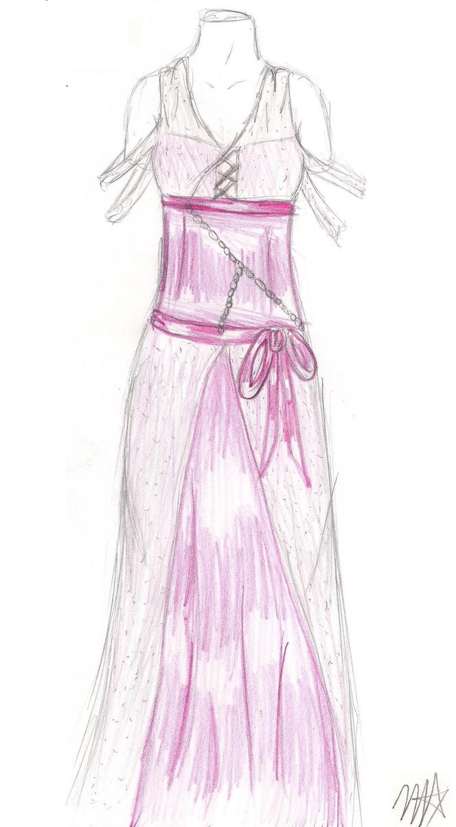 drawing of dream prom dresses part one by the-dark-ninja on DeviantArt