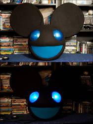 Black and Blue Mau5 Commission