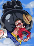 Luffy: Gomu Gomu No Elephant Gun by ACPuig