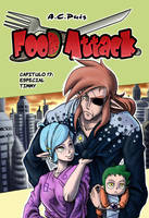 Food Attack Cap. 17 Portada by ACPuig