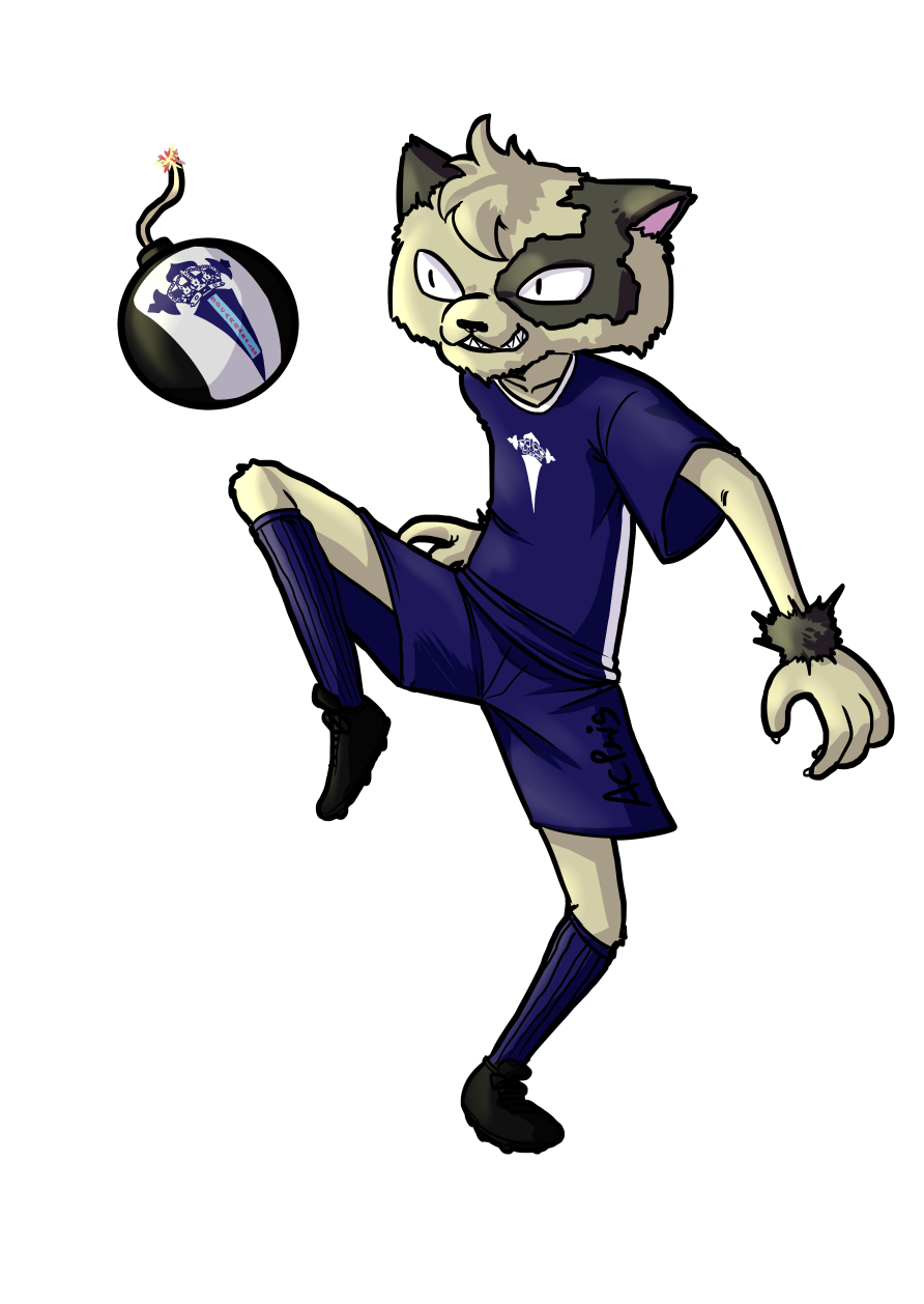 Commission: Gato Futbolero by ACPuig