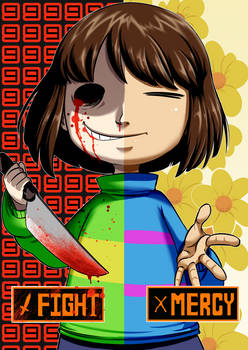 Undertale Frisk X Chara