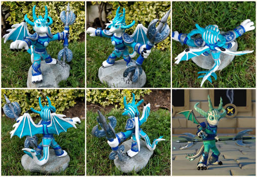 Tempest the Dragon Sentinel - Different Angles