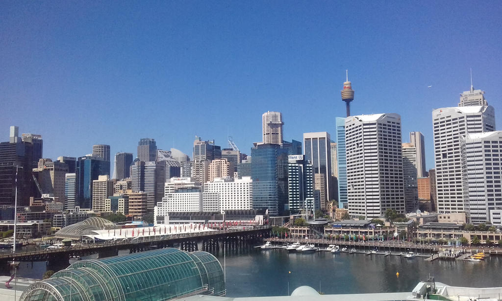 CityScape (Darling Harbour, Sydney Australia) by The-Dancing-Dragon