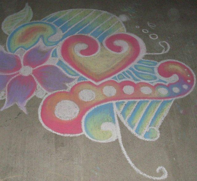 Chalk Art by craperduh