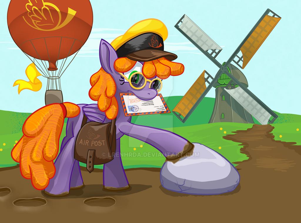 Royal Equestrian Air Post by lrenhrda