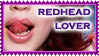 redhead stamp by cocodesbois