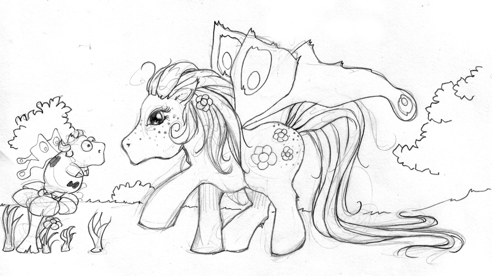 jam art - rosie poney
