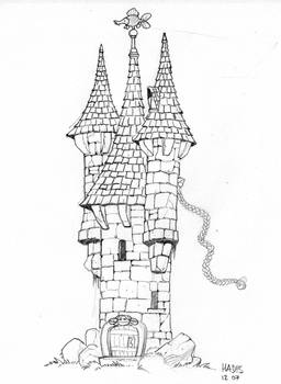 Small castle drawing