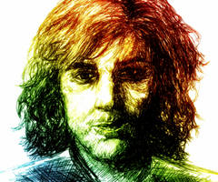 Rainbow man by Klussky