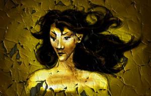 Peeling paint by Klussky