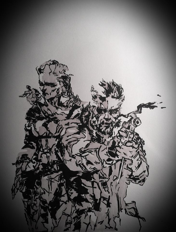 Metal Gear Solid 3 Snake Eater By Hawk Eye Aless On Deviantart