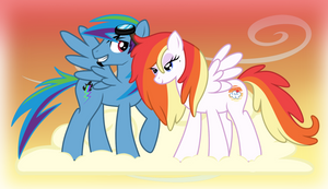 Rainbow Dash's Parents - When We Were Younger