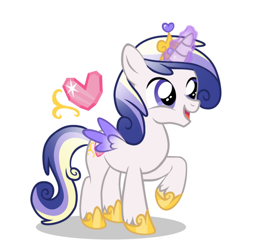 Shining Armor x Princess Cadence 'Prince Charming' by LugiaAngel