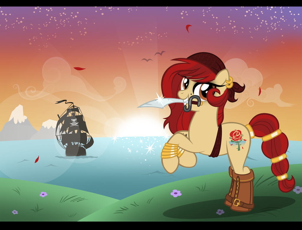Yo Ho, A Pirate's Life For me! by LugiaAngel