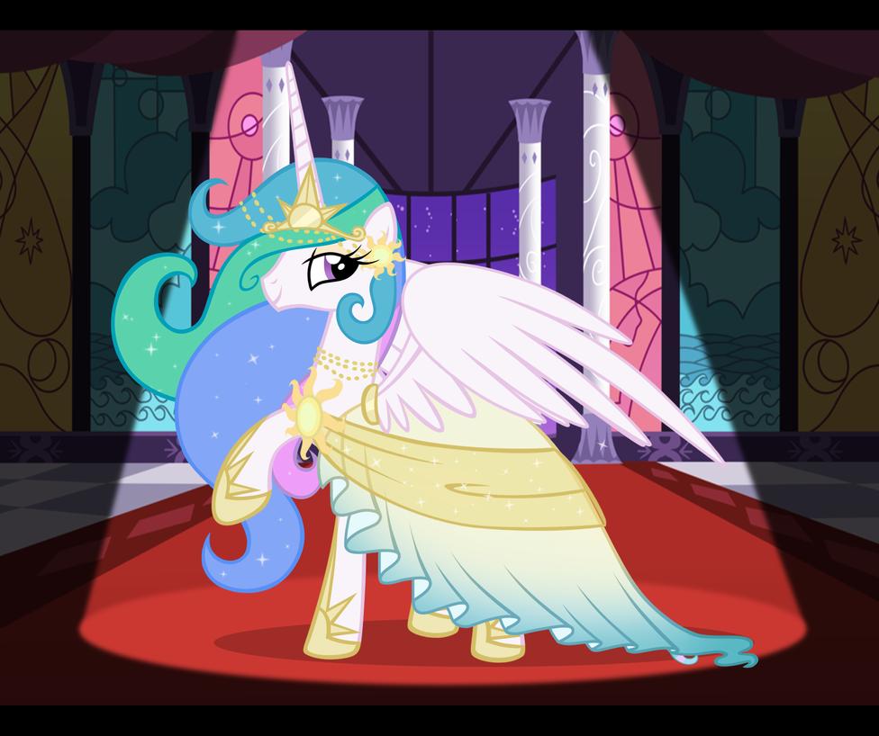 Celestia's Dress
