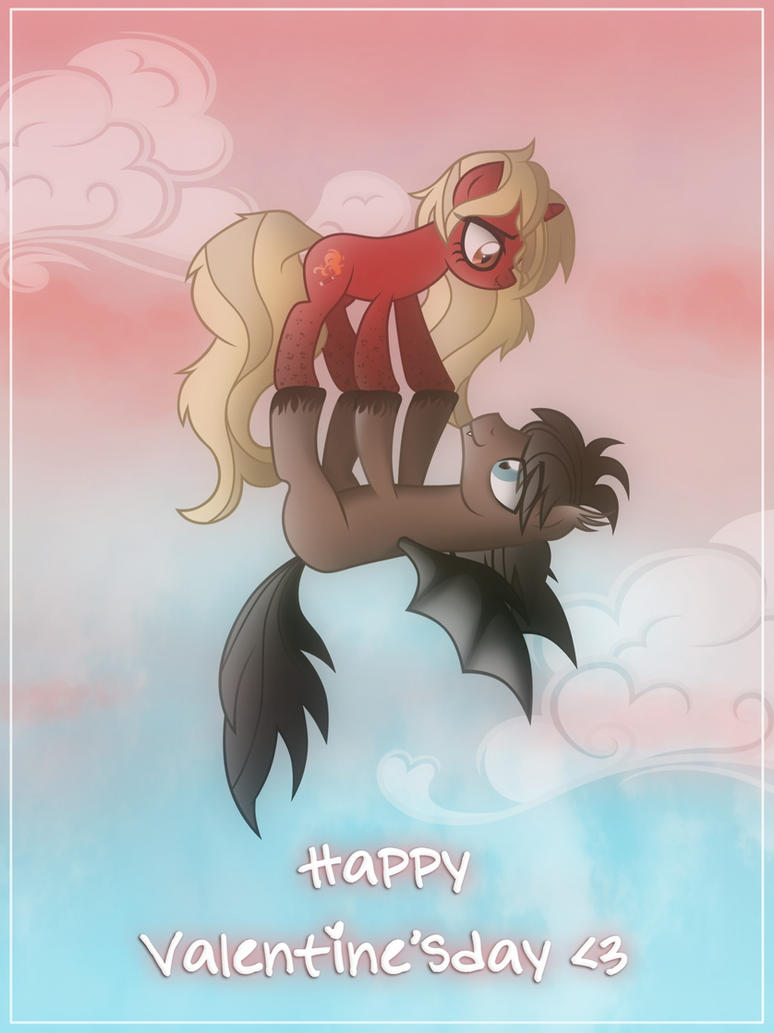 Valentine Ponies by LugiaAngel