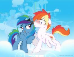 Rainbow Dash Parents - Genderbenders