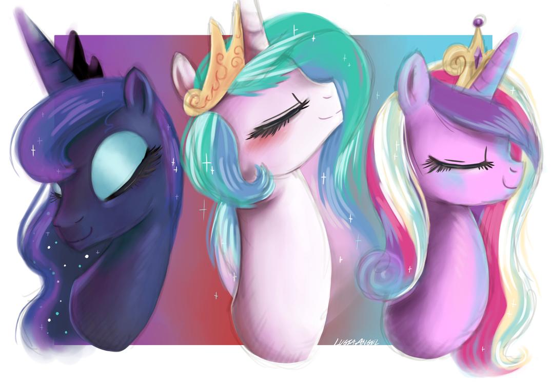 Princesses by LugiaAngel