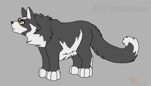 100 cats #33 Thistleclaw