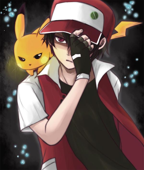 Pokemon Trainer Red Art