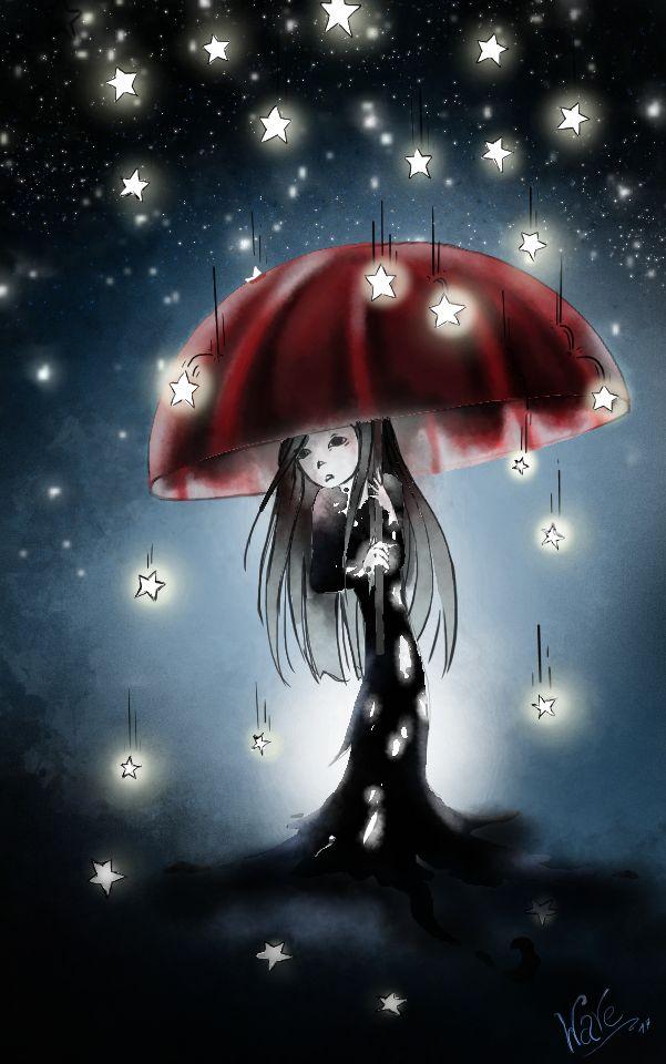 Star rain by diamantenfresser