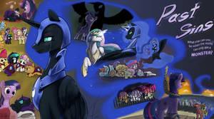 Commission: Past Sins coverart by Dreatos