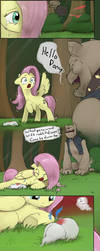 Origin Story: Fluttershy Pg. 2 by Dreatos