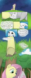 Origin Story: Fluttershy Pg. 3 by Dreatos