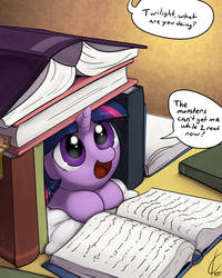 Book Fort Twilight by Dreatos