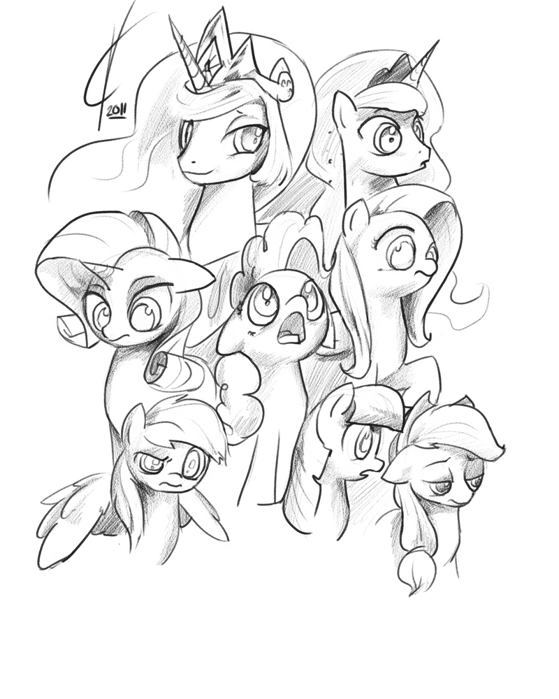 Sketchy fellows. by Dreatos