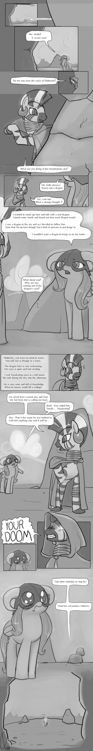 Dragonshy:  A trying, rhyming time. by Dreatos