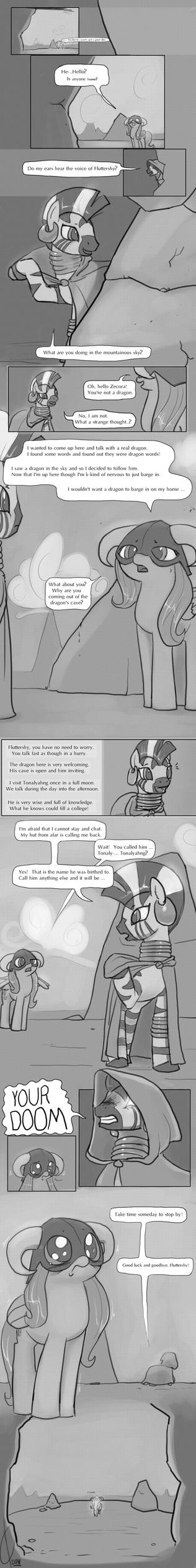 Dragonshy:  A trying, rhyming time. by Dreatos